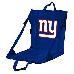 Logo Brands New York Giants Folding Stadium Seat