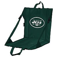 Logo Brands New York Jets Folding Stadium Seat