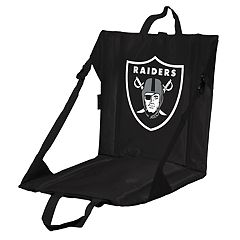 Logo Brands Oakland Raiders Folding Stadium Seat