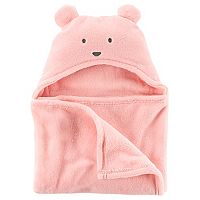 Baby Girl Carter's Sherpa Hooded Blanket