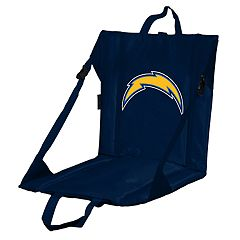 Logo Brands Los Angeles Chargers Folding Stadium Seat