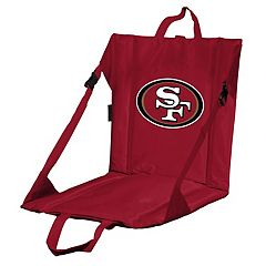 Logo Brands San Francisco 49ers Folding Stadium Seat