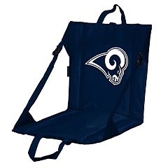 Logo Brands Los Angeles Rams Folding Stadium Seat