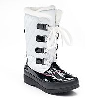 Totes Kayla Girls' Waterproof Winter Boots
