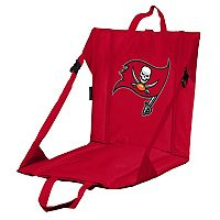 Logo Brands Tampa Bay Buccaneers Folding Stadium Seat