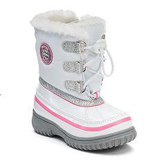 totes Skye Toddler Girls' Waterproof Winter Boots