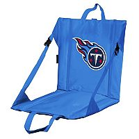 Logo Brands Tennessee Titans Folding Stadium Seat
