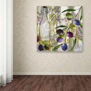 Trademark Fine Art Colors Of Tuscany I Canvas Wall Art