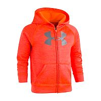 Toddler Boy Under Armour Logo Zip Hoodie