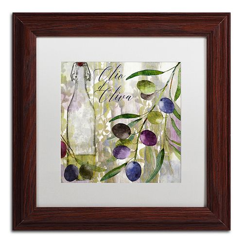 Trademark Fine Art Colors Of Tuscany I Framed Wall Art
