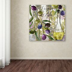 Trademark Fine Art Colors Of Tuscany II Canvas Wall Art