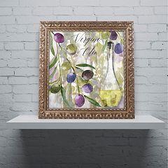Trademark Fine Art Colors Of Tuscany II Ornate Framed Wall Art