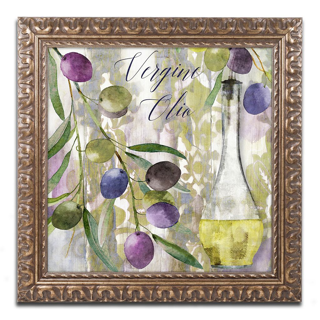Trademark Fine Art Colors Of Tuscany II Ornate Framed Wall Art