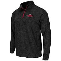 Men's Campus Heritage Arkansas Razorbacks Action Pass Quarter-Zip Pullover