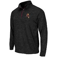 Men's Campus Heritage Arizona State Sun Devils Action Pass Quarter-Zip Pullover