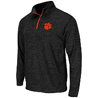 Men's Campus Heritage Clemson Tigers Action Pass Quarter-Zip Pullover
