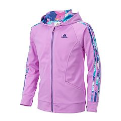 Girls 7-16 adidas Hooded Tricot Track Jacket