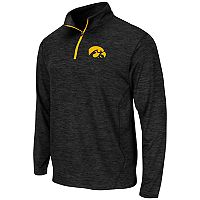 Men's Campus Heritage Iowa Hawkeyes Action Pass Quarter-Zip Pullover