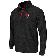 Men's Campus Heritage Louisville Cardinals Action Pass Quarter-Zip Pullover
