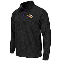 Men's Campus Heritage LSU Tigers Action Pass Quarter-Zip Pullover