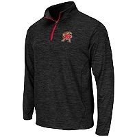 Men's Campus Heritage Maryland Terrapins Action Pass Quarter-Zip Pullover