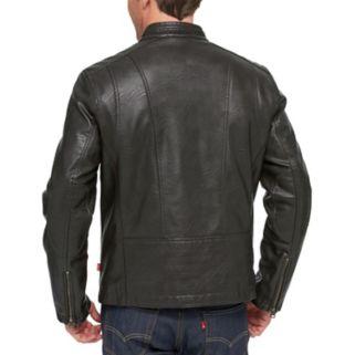 Men's Levi's® Faux-Leather Racer Jacket