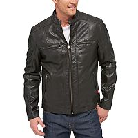 Men's Levi's® Faux-Leather Racer Jacket