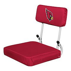 Logo Brands Arizona Cardinals Hard Back Stadium Seat