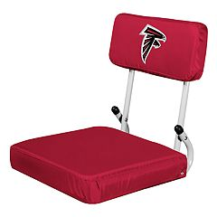 Logo Brands Atlanta Falcons Hard Back Stadium Seat