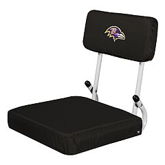 Logo Brands Baltimore Ravens Hard Back Stadium Seat