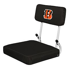 Logo Brands Cincinnati Bengals Hard Back Stadium Seat