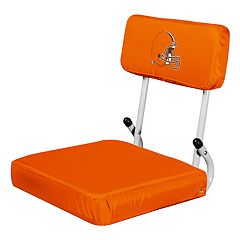Logo Brands Cleveland Browns Hard Back Stadium Seat