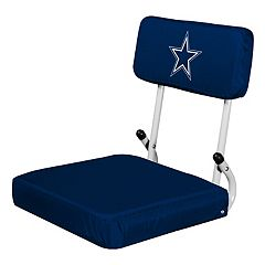 Logo Brands Dallas Cowboys Hard Back Stadium Seat