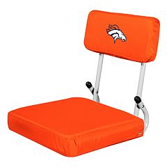 Logo Brands Denver Broncos Hard Back Stadium Seat