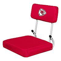Logo Brands Kansas City Chiefs Hard Back Stadium Seat