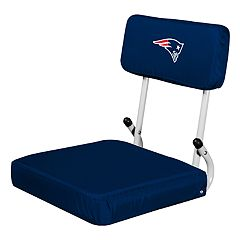 Logo Brands New England Patriots Hard Back Stadium Seat