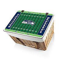Picnic Time Seattle Seahawks Canasta Grande Picnic Basket