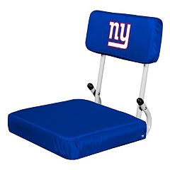 Logo Brands New York Giants Hard Back Stadium Seat