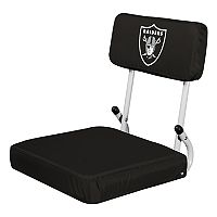 Logo Brands Oakland Raiders Hard Back Stadium Seat
