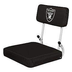 Logo Brands Oakland Raiders Hard Back Stadium Seat