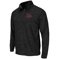 Men's Campus Heritage Texas A&M Aggies Action Pass Quarter-Zip Pullover