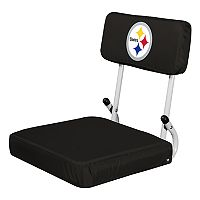 Logo Brands Pittsburgh Steelers Hard Back Stadium Seat