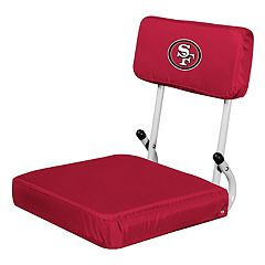 Logo Brands San Francisco 49ers Hard Back Stadium Seat