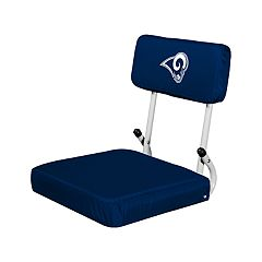 Logo Brands Los Angeles Rams Hard Back Stadium Seat