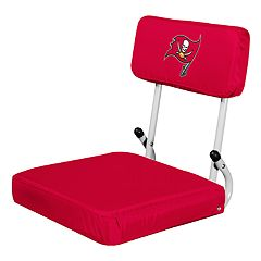 Logo Brands Tampa Bay Buccaneers Hard Back Stadium Seat