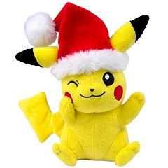 Pokémon 8' Santa Hat Pikachu Plush by Tomy