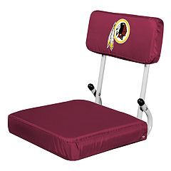 Logo Brands Washington Redskins Hard Back Stadium Seat