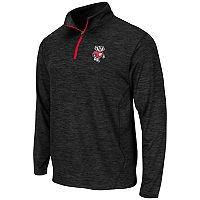 Men's Campus Heritage Wisconsin Badgers Action Pass Quarter-Zip Pullover