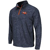 Men's Campus Heritage Auburn Tigers Action Pass Quarter-Zip Pullover