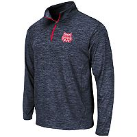 Men's Campus Heritage Arizona Wildcats Action Pass Quarter-Zip Pullover